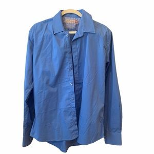 New men's blue dress shirt sz M